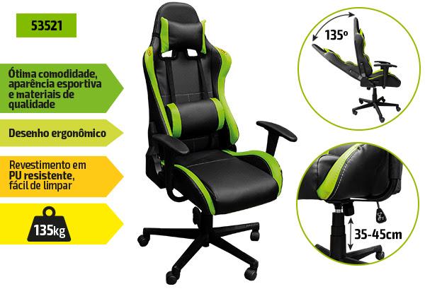 CADEIRA GIRATÓRIA 53521