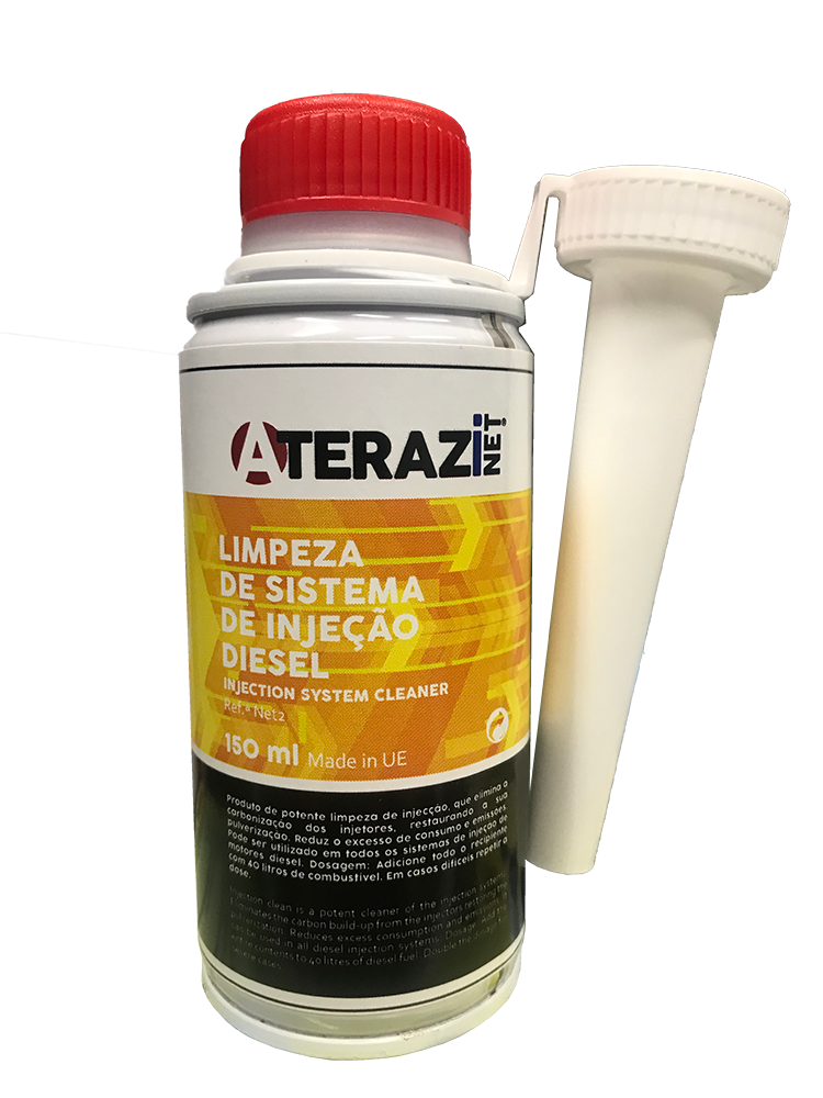 Limpeza Sistema Injeção Diesel 150ml ATERAZINET NET2