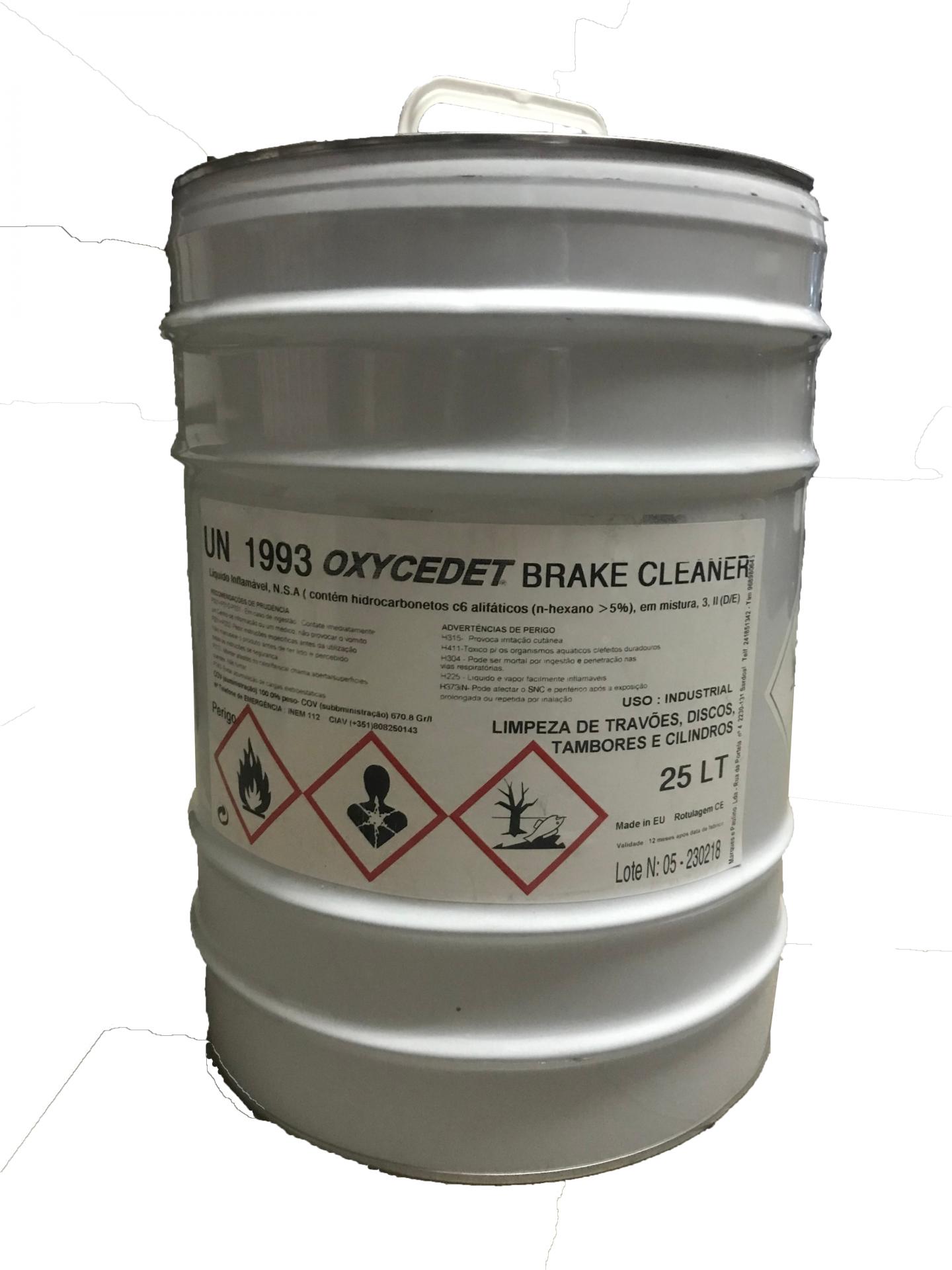 Liquido Limpeza de Travões 25L OLT25