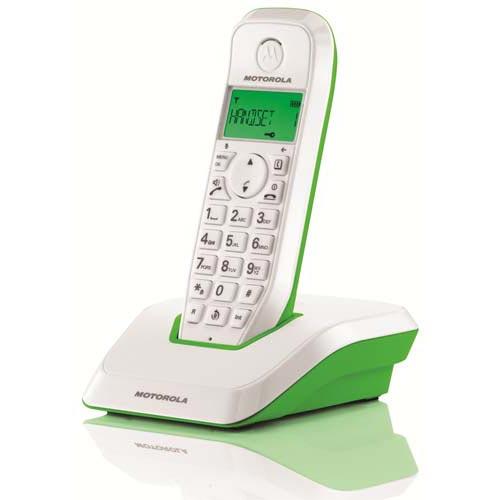 Telefone Sem Fios DECT MOTOROLA S1201 Startac Verde