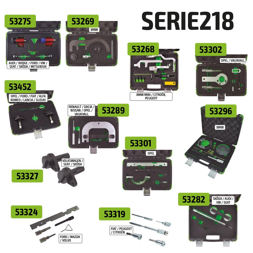 Top kits para oficinas substituir distribuição SERIE218
