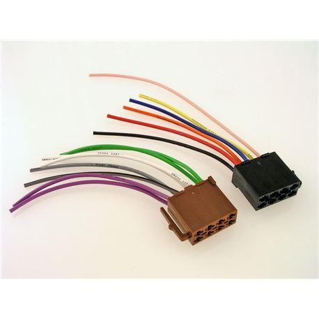 Conector autorrádio iso universal LK04620
