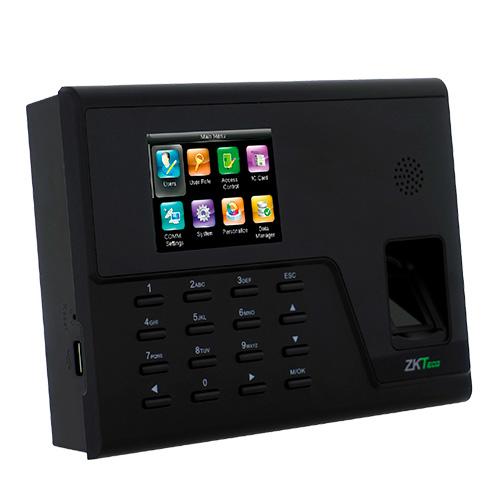 Terminal de controle de presenças IP Golmar com suporte WiFi GM-TA760
