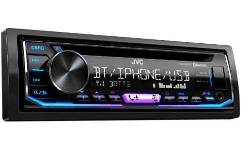 JVC KD-R992BT Receptor CD Bluetooth (R) e entrada USB / AUX frontal