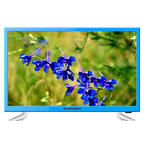 Tv Led 23,6'' Schneider SCH13BLU , HD, USB, Rainbow , Azul , Dvb-t , 1 hdmi + scart + VGA + a/v input , 89º  3527570050220