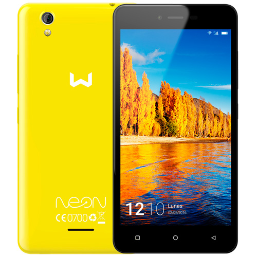 Weimei Neon 4G Duplo Whatsapp Dual Sim Livre Amarelo WEI20NEONLY