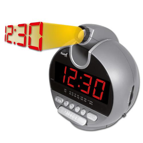 Despertador SAMI Projecção e Radio RS4719