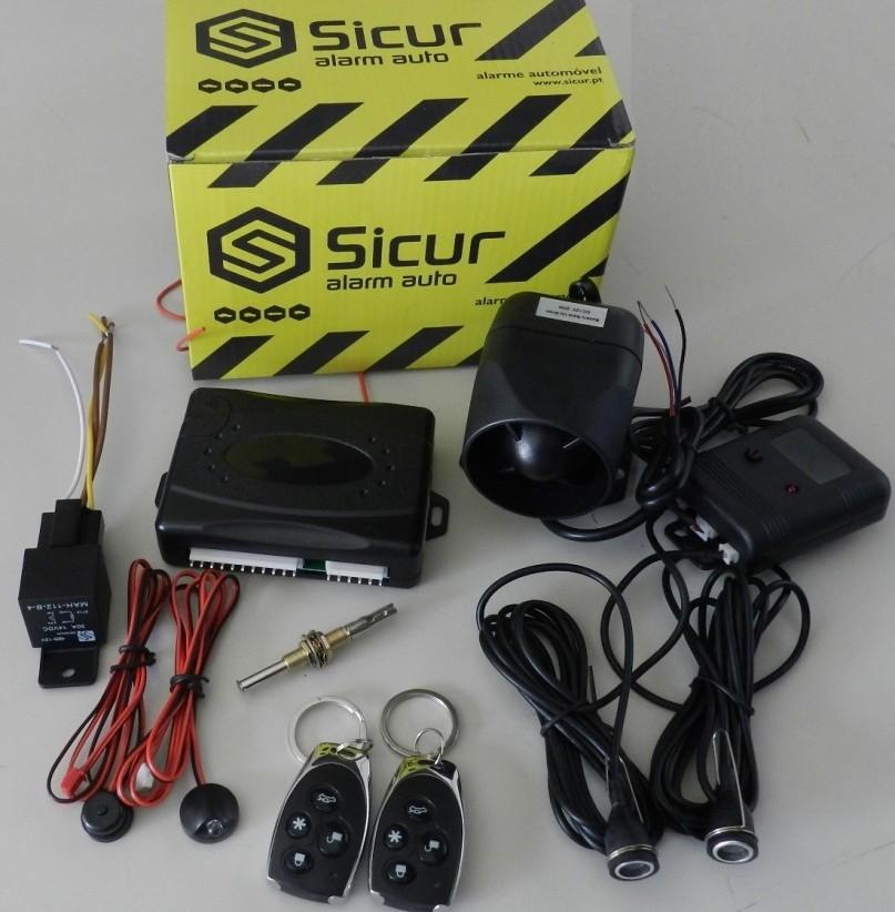 Cópia de Alarme Sicur Sirene Auto-Alimentado com Comandos SC1401A