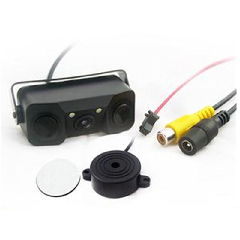Kit câmera traseira com sensores de estacionamento LKKP100