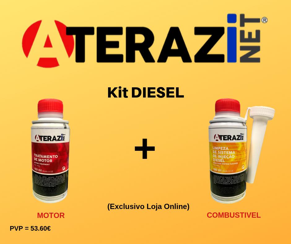 Aditivo Tratamento de Motores + Limpeza Sistema Injecção Diesel (KIT DIESEL)