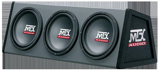MTX RT10X3DS | 3 Subwoofers em caixa 250mm | 1800W