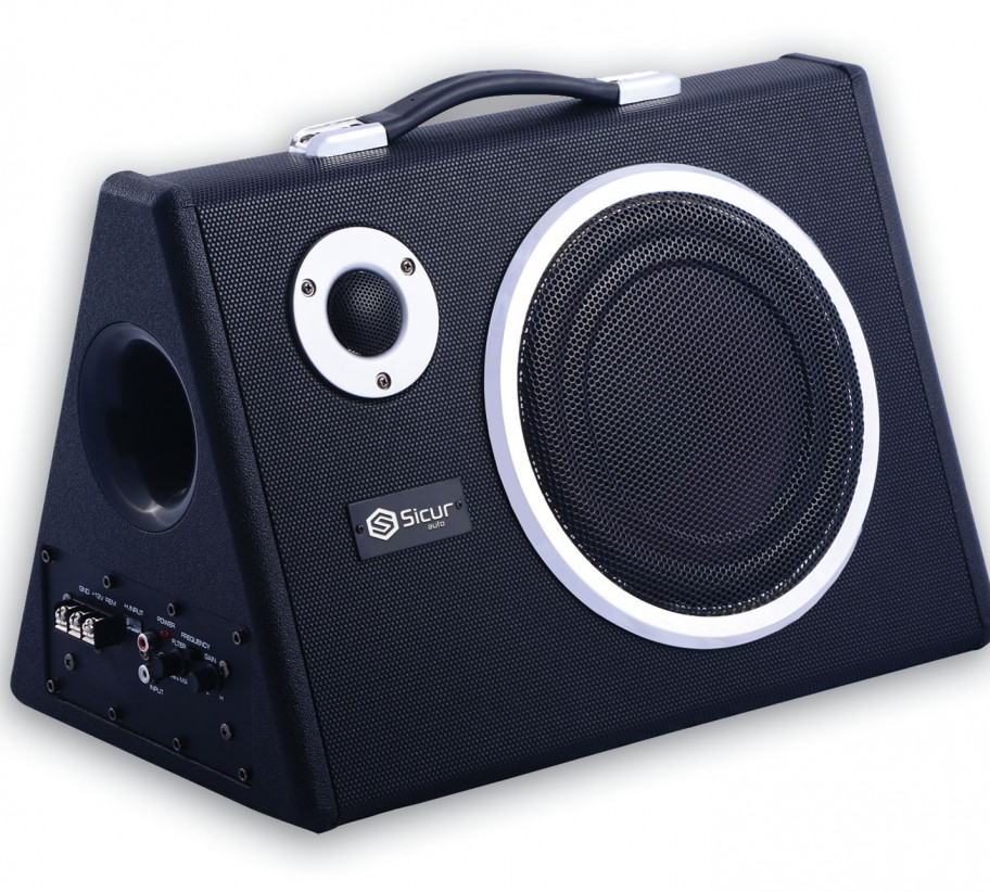Subwoofer Amplificado Sicur 200mm 180W S810A