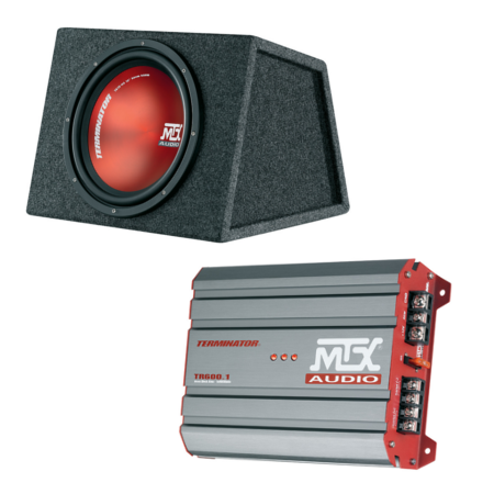 MTX KIT600MTX | Subwoofer + amplificador 2 canais | 600W