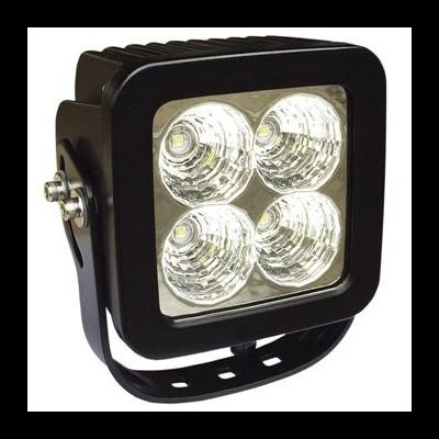 FAROL DE TRABALHO COM 4 LEDS 40W LUZ DISPERSA JBM 53049