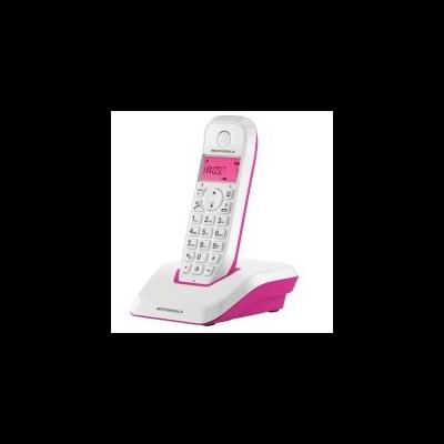 Telefone Sem Fios DECT MOTOROLA S1201 Startac Rosa