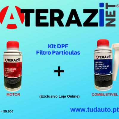 Aditivo Tratamento de Motores + Limpeza Filtro Partículas  (KIT DPF)