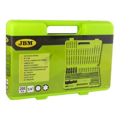 Caixa de Ferramentas JBM com 208 Bits 53574