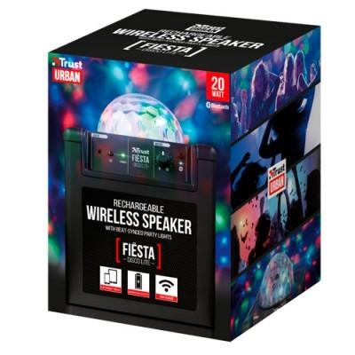 Altavoz Bluetooth Trust Fiesta Disco Lite Rechargeable Wireless Speaker