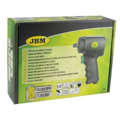 """PISTOLA DE IMPACTO JBM MODELO NANO 1/2"""" (1302NM) 53588"""