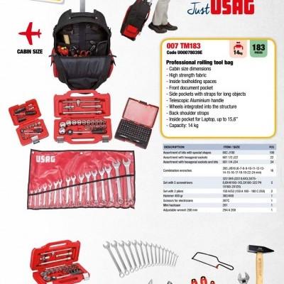 Trolley para Ferramentas Profissional 183 Ferramentas USAG 007 TM183