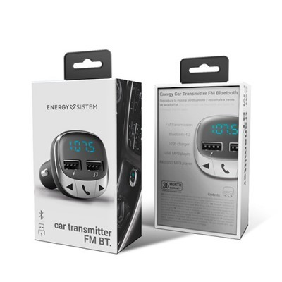 Transmissor FM Energy Bluetooth Micro SD USB MP3 PCS75101448265