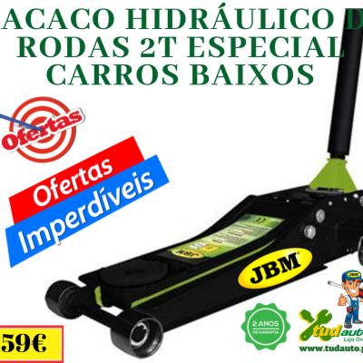 MACACO HIDRÁULICO DE RODAS 2T ESPECIAL CARROS BAIXOS 53421