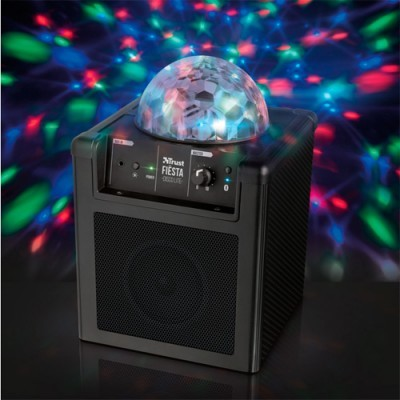 Altavoz Bluetooth Trust Fiesta Disco Lite Rechargeable Wireless Speaker