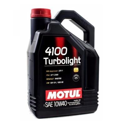 MOTUL 4100 Turbolight 10W-40 5L 100357