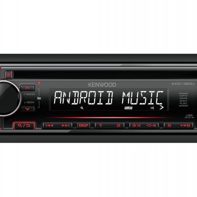 Autorrádio Kenwood KDC-120UR CD USB