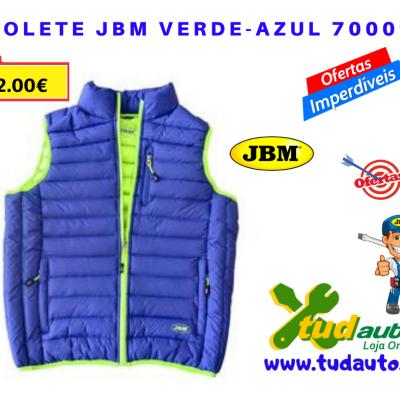 COLETE JBM VERDE-AZUL 70009