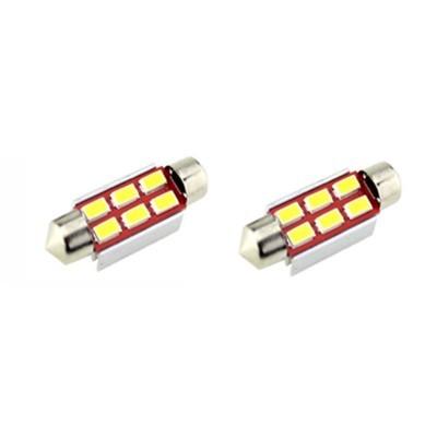 KIT LÂMPADAS FESTOOM CAN BUS 36MM 6 LED'S 3W LKLP321