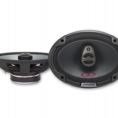 "Alpine 6 x 9"" (16 cm x 24 cm) COAXIAL 2-WAY SPEAKER SPG69C2"