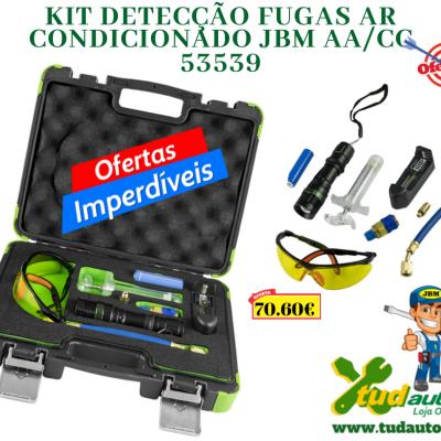 KIT DETECÇÃO FUGAS AR CONDICIONADO JBM AA/CC 53539