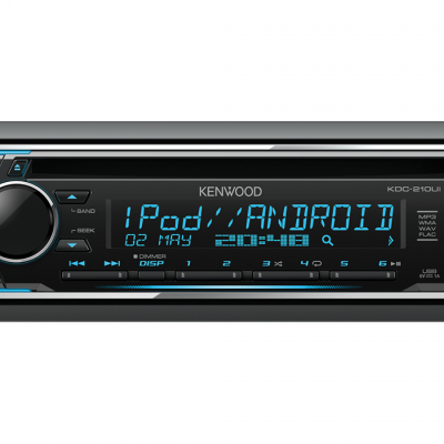 Autorrádio Kenwood KDC-210UI CD USB Cor Variável