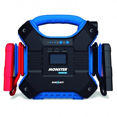 ARRANCADOR BOOSTER MINIBATT MONSTER XL 12V 24V 35.000 mAh