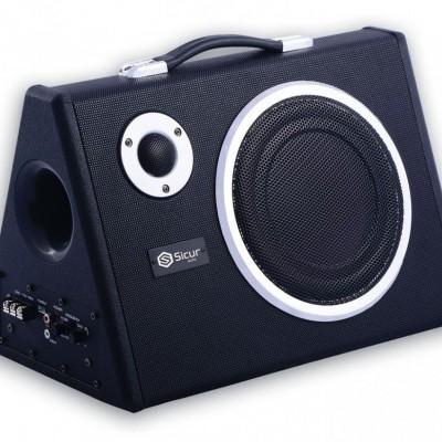 Subwoofer Amplificado Sicur 200mm 180W S810A
