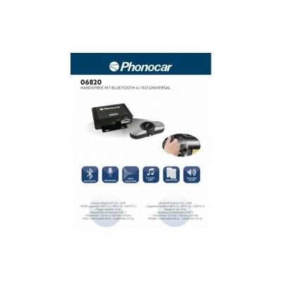 Kit- Mãos Livres PHONOCAR 06820