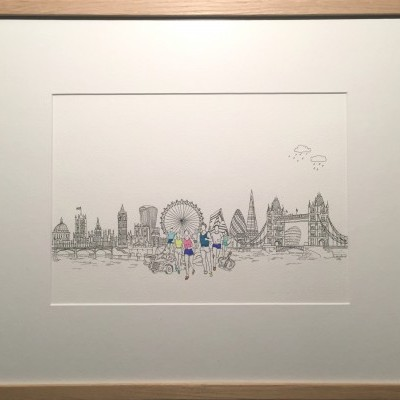 Running, Architecture and the City - London