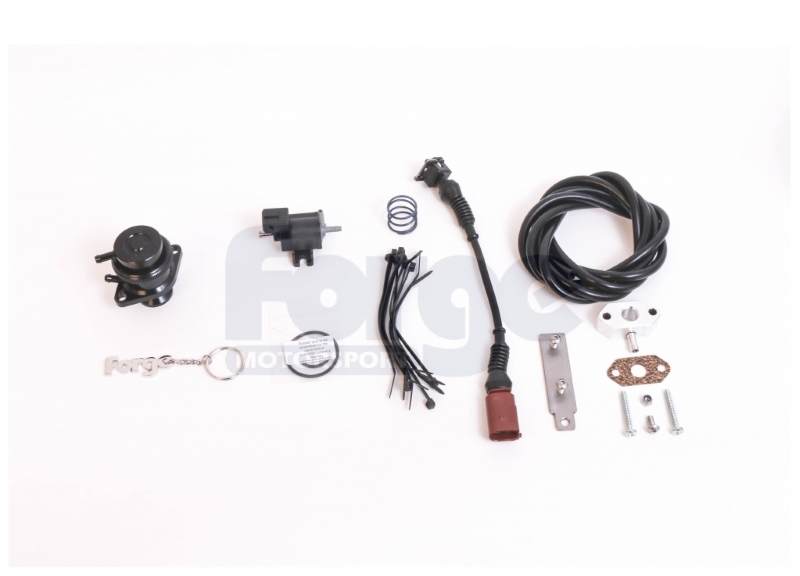 FORGE Recirculation Valve and Kit for Audi / VW / SEAT / Skoda 1.4 TSI