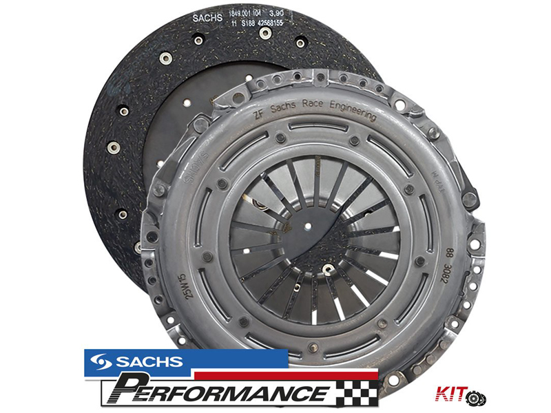 SACHS Performance Clutch Kit 240MM 550+NM VAG 1.9TDI PD 1.8T (6 SPEED MANUAL GEARBOX)