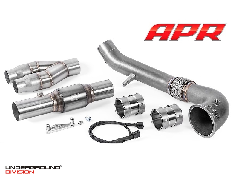 APR Cast Race DP Exhaust System for the 2.5 TFSI TT RS and RS3