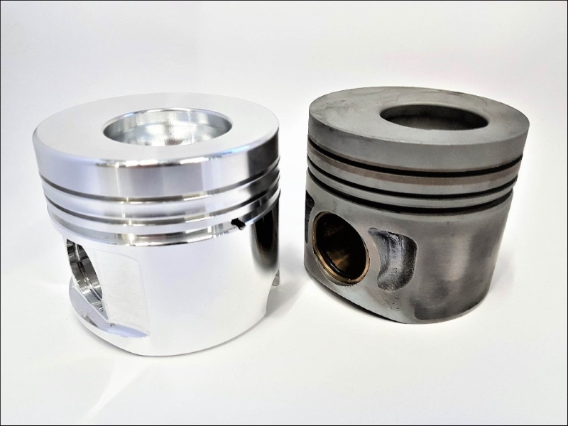 ZRP Forged Pistons Diamond Series Audi / VW 1.9L-2.0L TDI Diesel 82.00mm 18:1