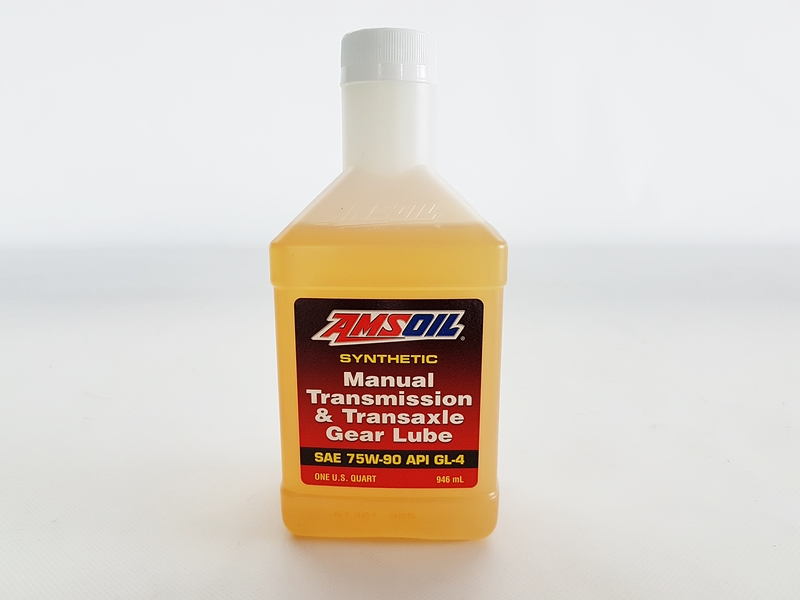 AMSOIL MTG - Manual Transmission & Transaxle Gear Lube 75W-90 (1/4 Gallon - 946ml)