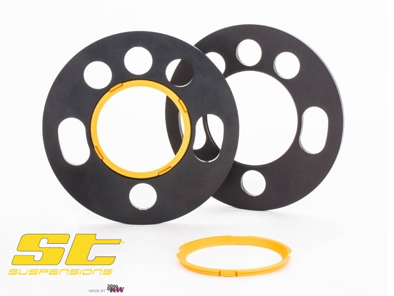 ST Wheel Spacers Pair of DZX 10mm/Spacer Universal Fit (Ø155mm)