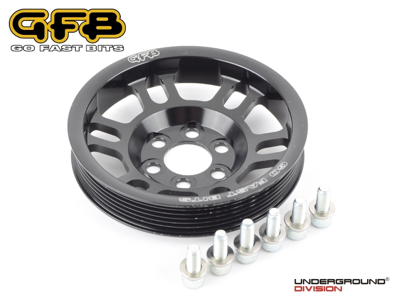 GFB Super Lightweight Crankshaft Pulley 2.0TFSI EA113 Engines