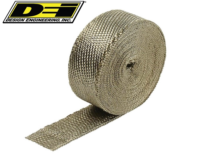 DEI 15M 25MM HEAT WRAP TITANIUM (UP TO 1400ºC)