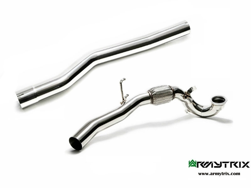 ARMYTRIX High-flow Performance Downpipe for VW GOLF 7 / 7.5 R 2.0TSI (2013-) & AUDI S3 8V 2.0TSI (2013-)
