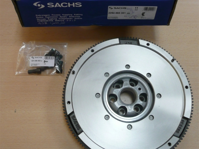 GENUINE SACHS DUAL MASS FLYWHEEL for VAG 1.9TDI PD 6 SPEED GEARBOX 2294003341