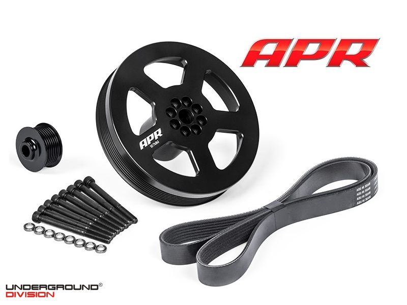 APR 3.0 TFSI Supercharger Drive and Crank Pulley Upgrades