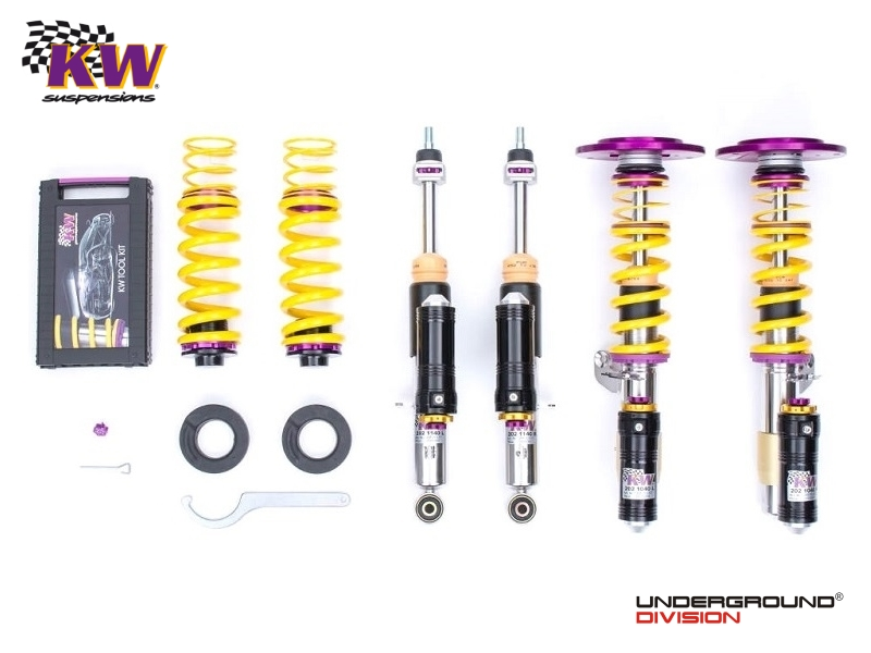 KW Coilover Kit Clubsport 3-WAY Inox BMW F87 M2 & M2 COMPETITION
